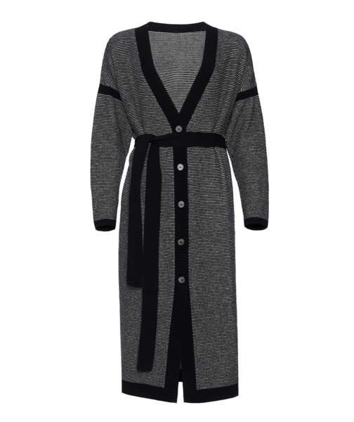 Cardigan long Gazette en laine et cachemire, 700 €