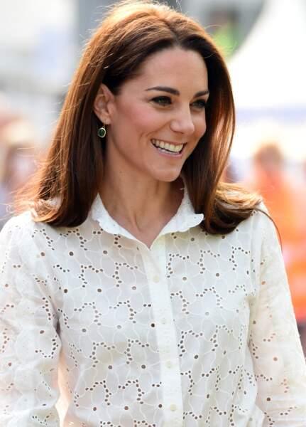 Kate Middleton, le carré long se fait mi-long