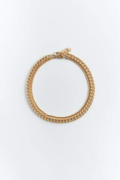 Lot de colliers à maillons, 9,95 €, Zara