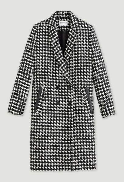 Manteau tailleur, 495€, Claudie Pierlot