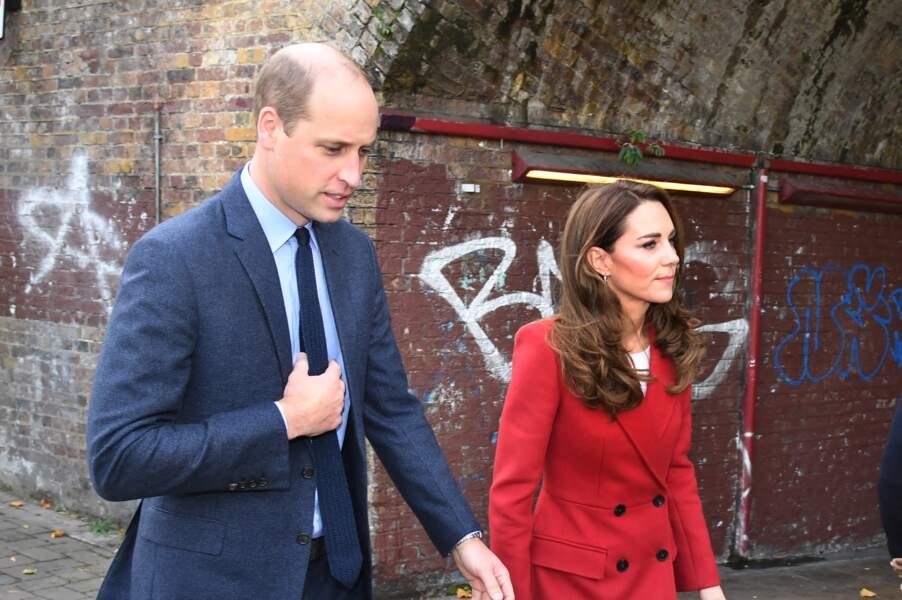 Le couple princier en ballade dans les rues de Londres