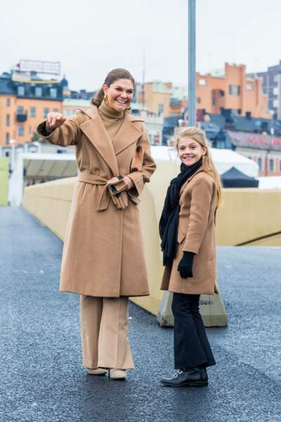 La belle complicité entre la princesse Victoria de Suède et sa fille la princesse Estelle