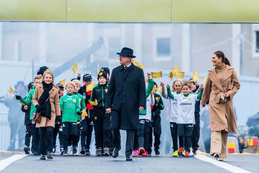 Ce 25 octobre 2020, trois générations de la famille royale de Suède étaient réunies à Stockholm