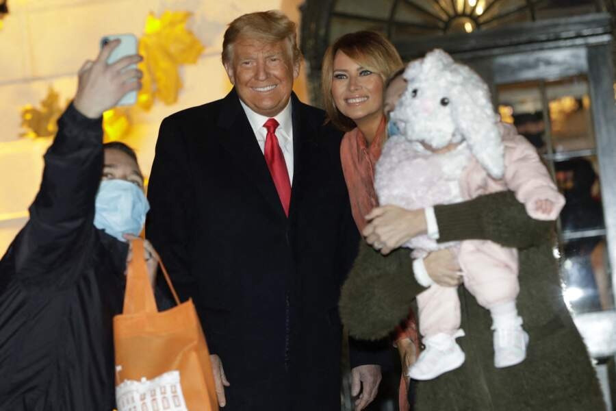 Le couple présidentiel américain