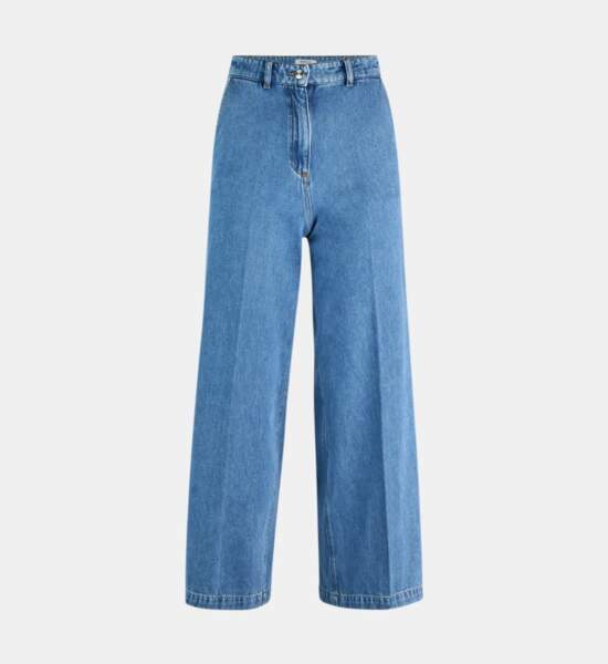 Jean large Element, 7-8 coton, 59,99€, Galeries Lafayette
