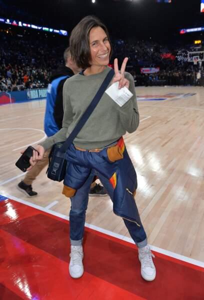 Alessandra Sublet, adepte de la coupe courte depuis plusieurs années.