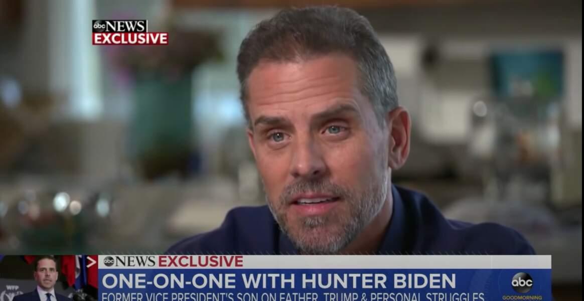 Hunter Biden, l'un des deux fils aînés de Joe Biden.