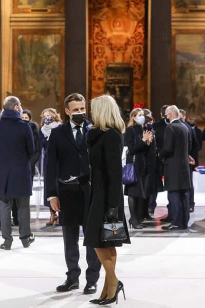 Le président de la République et la première dame se sont montrés très complices