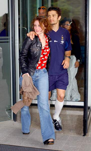 Elsa Lunghini et Bixente Lizarazu en 2002
