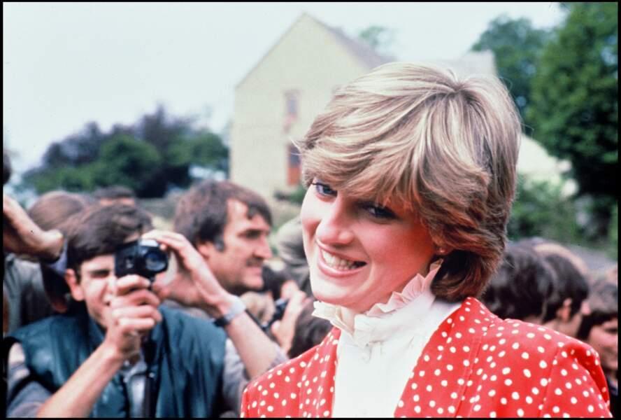 La princesse Diana à Tetbury, UK, en mai 1981
