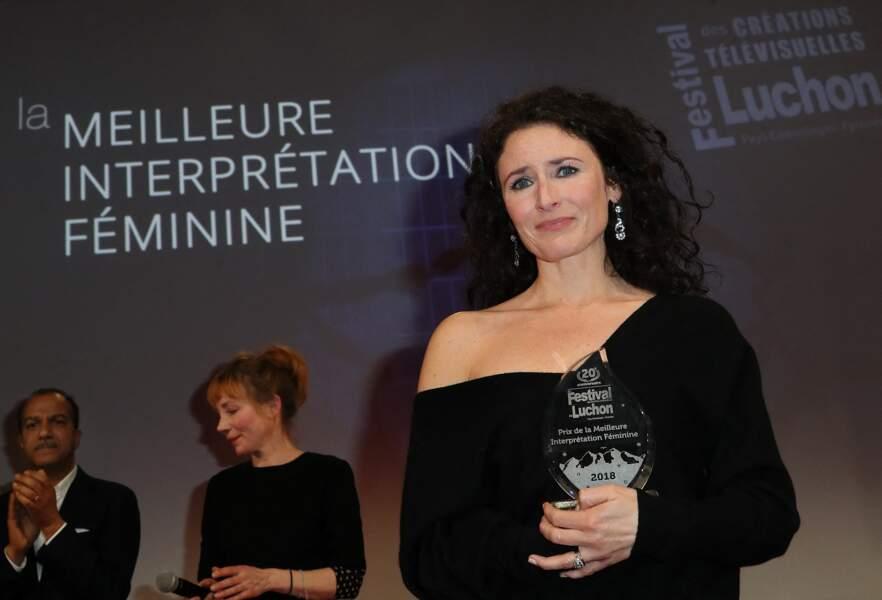 Elsa Lunghini au 20ème anniversaire du Festival des Créations Télévisuelles de Luchon, en 2018
