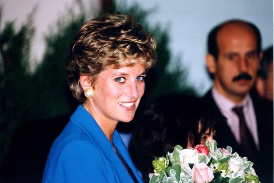 Lady Diana à Paris en 1994