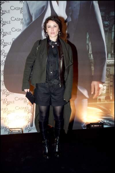 Elsa Lunghini en 2006 à l'avant-première du film Casino Royale.