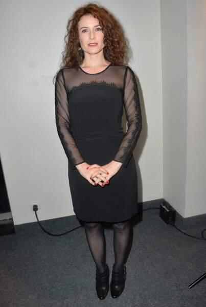 Elsa Lunghini en 2015 à la 20e cérémonie des Prix Lumières à Paris.