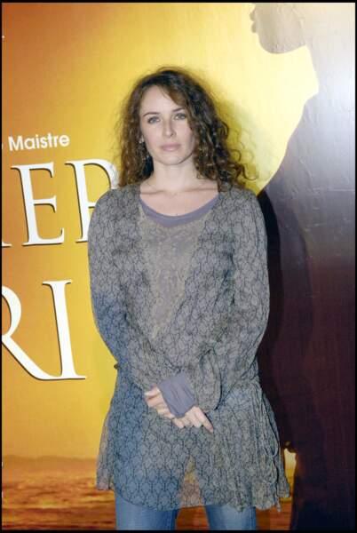 Elsa Lunghini à l'avant-première du film Le Premier cri en 2007.