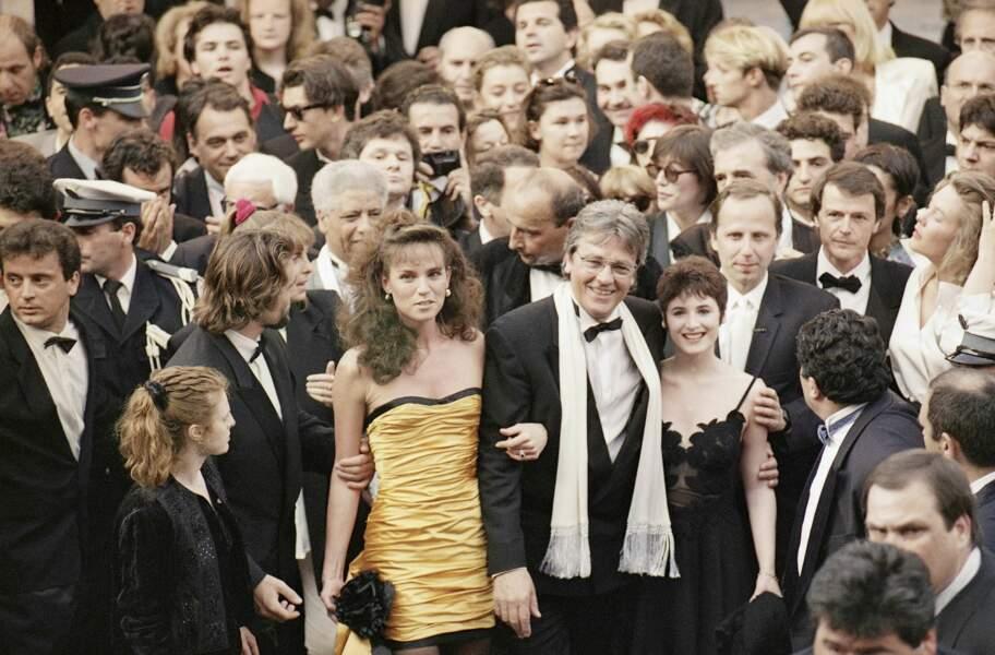 Elsa Lunghini au Festival de Cannes en 1992.