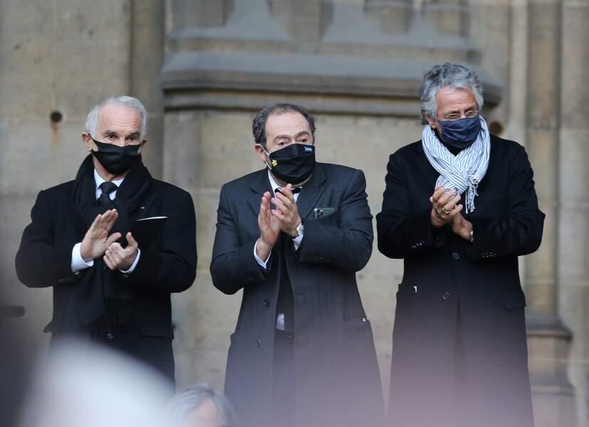 Alain Terzian, Patrick Timsit et Richard Anconina ont salué le talent de Cyril Colbeau-Justin, pour lequel il avait été recompensé par deux César en 2014.