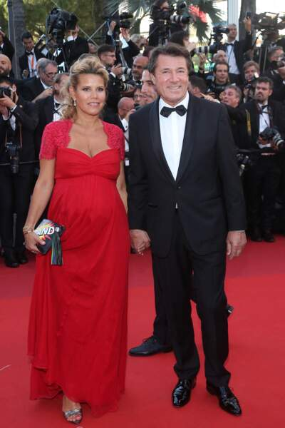 Christian Estrosi et Laura Tenoudji au Festival de Cannes en 2017