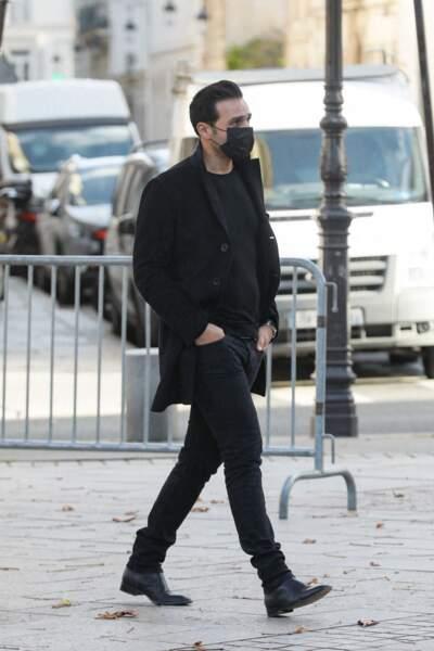 Maxim Nucci tenait à être présent pour dire adieu au producteur Cyril Colbeau-Justin, lors de ses obsèques, célébrées ce jeudi 12 novembre.