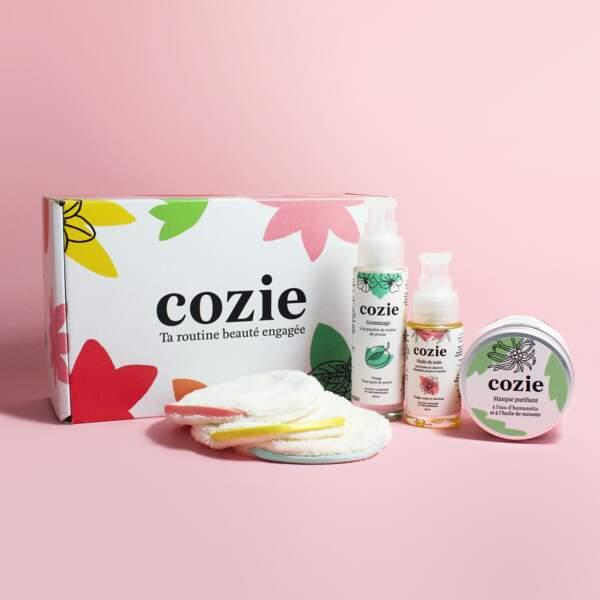 Coffret Rituel Cocooning, Cozie, 59€, cozie-bio.com