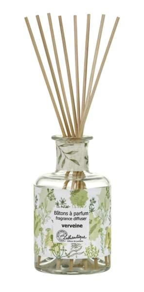 Bâtons à parfums Verveine, Lothantique, 29€, lothantique.com