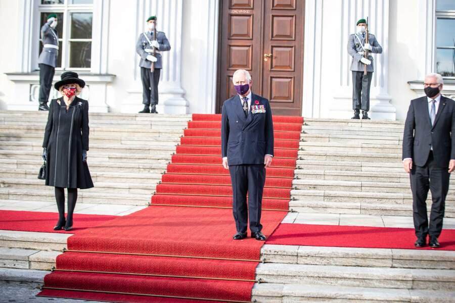 Le prince Charles et Camilla Parker Bowles ont commémoré ensemble la Journée nationale de deuil en l'Allemagne.