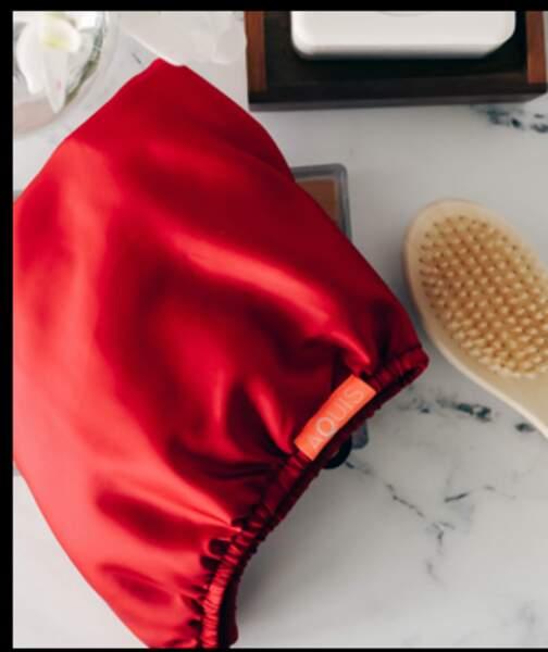 Ruby Turban 2-en-1 réversible, Aquis, 29,90 €  En édition limitée chez Sephora