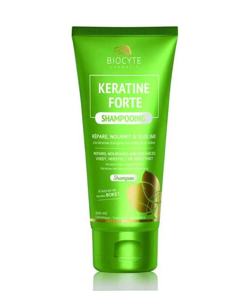 Keratine Forte Shampooing, Biocyte, 13,95 €