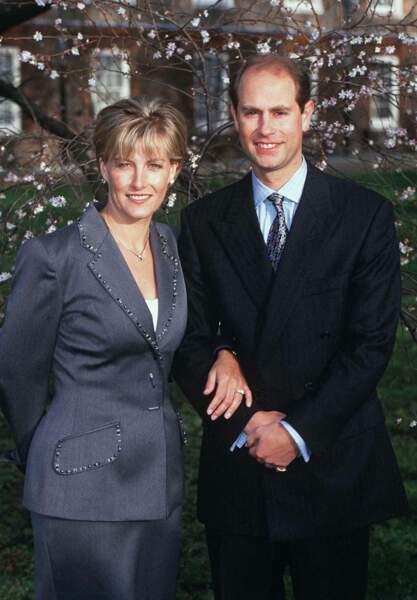 Les fiançailles du prince Edward et de Sophie Rhys Jones