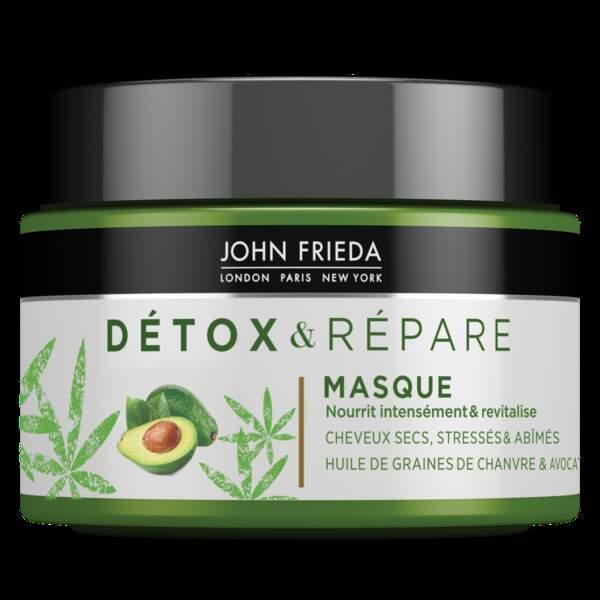 Détox & Répare Masque, John Frieda, 8,90 €