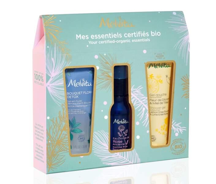 Coffret Mes Essentiels Bio, Melvita, 10,90 €