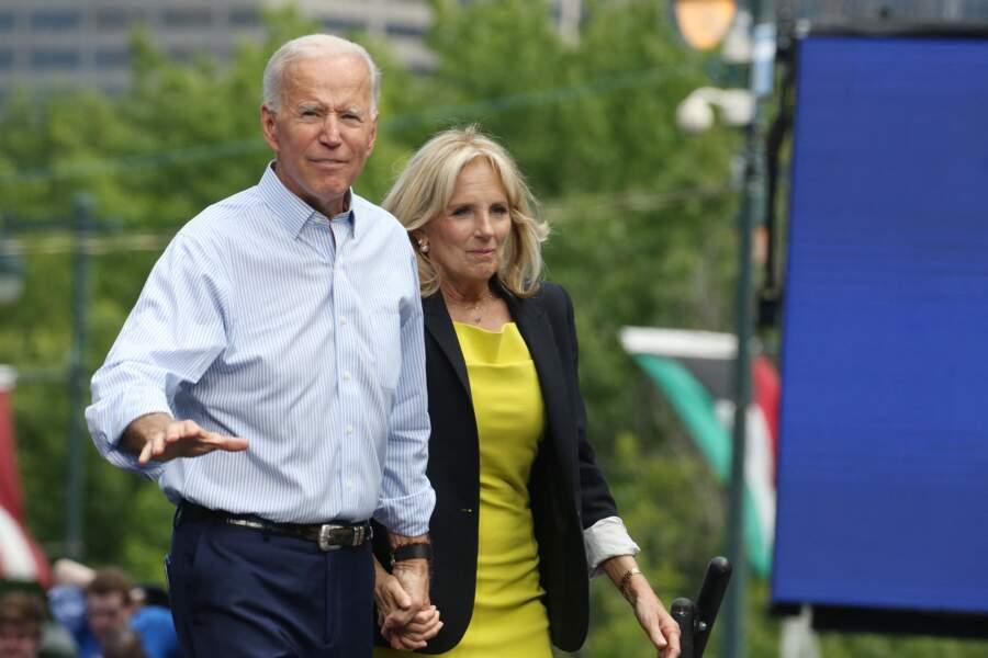 Jill et Joe Biden, un couple plus uni que jamais.