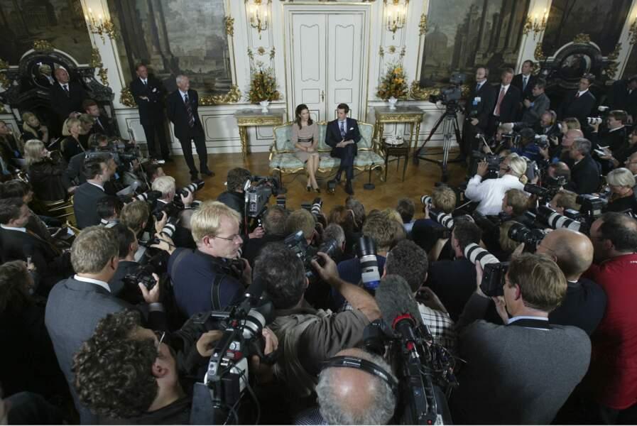 Les fiançailles du prince Frederik et de la princesse Mary