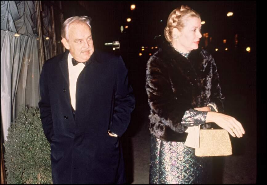 Les fiançailles de Grace Kelly et du prince Rainier