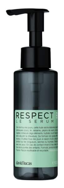Respect Le Sérum, David Lucas, 50 €