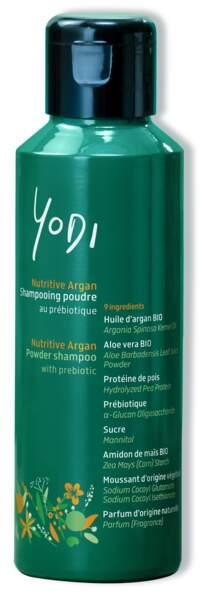 Douceur de lait d'Amande Shampooing poudre au prébiotique, Yodi, 20 €