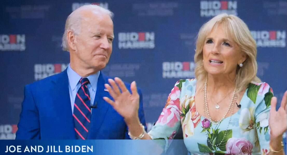 Mrs Biden, une nouvelle First lady au caractère bien trempé, qui fait l'admiration de son mari.