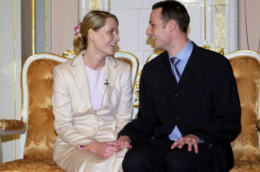 Les fiançailles de Mette Marit Tjessem et Haakon