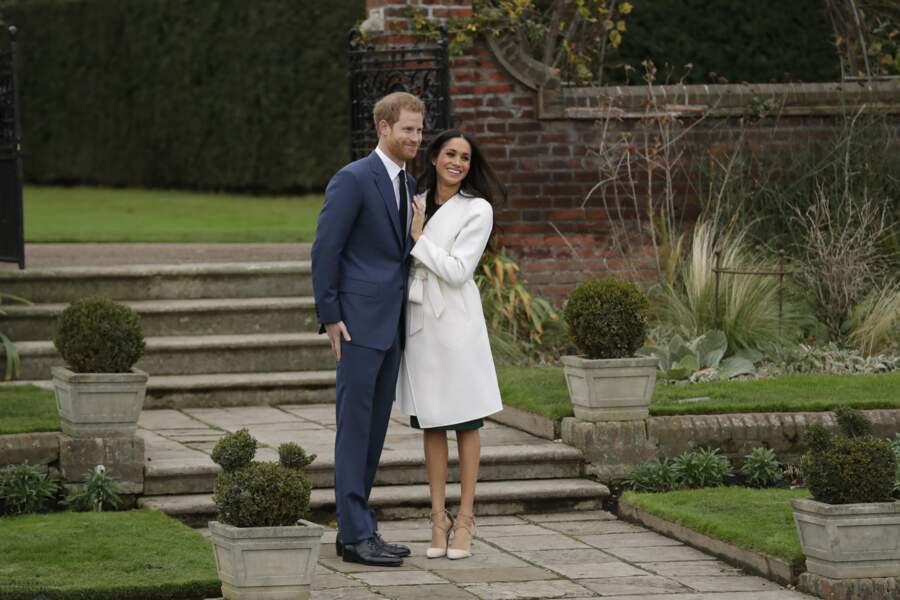 Les fiançailles de Meghan Markle et Harry