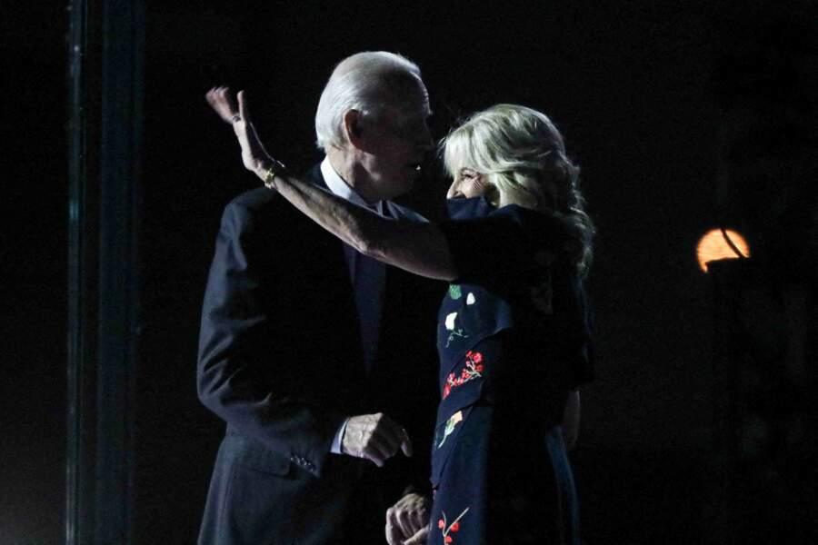 Les époux Biden, un couple solide, prêt à affronter ensemble quatre années à la Maison Blanche.