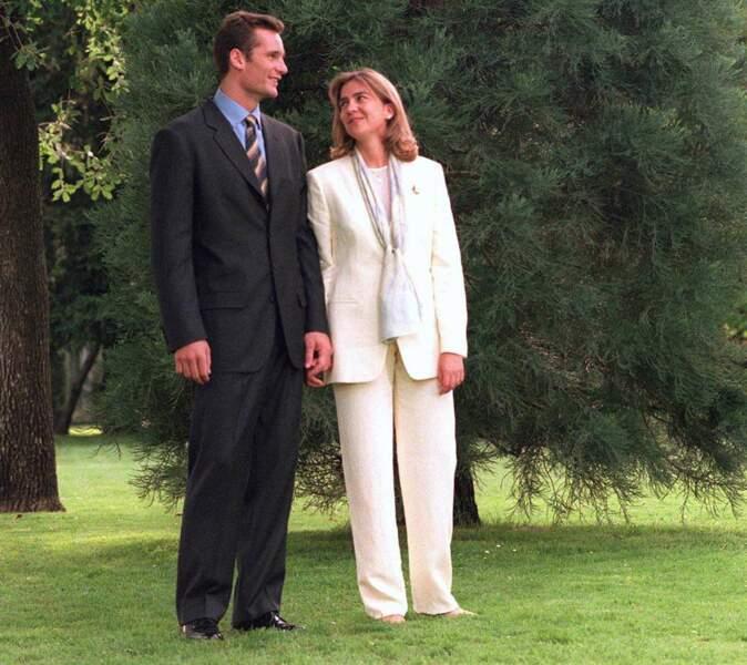 Les fiançailles de la princesse Cristina d'Espagne avec Inaki Ungardarin