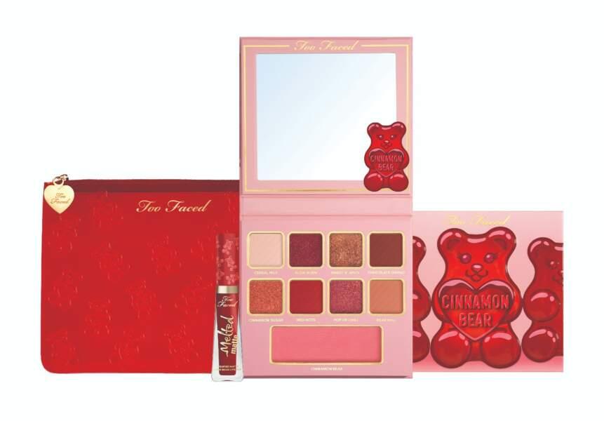 Too Faced Cinnamon Bear Makeup Collection, Too Faced, 41 € chez Sephora