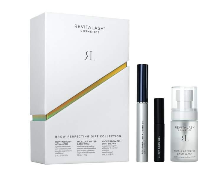 Coffret Sourcils Parfaits, Revitalash® Cosmetics, 90 €