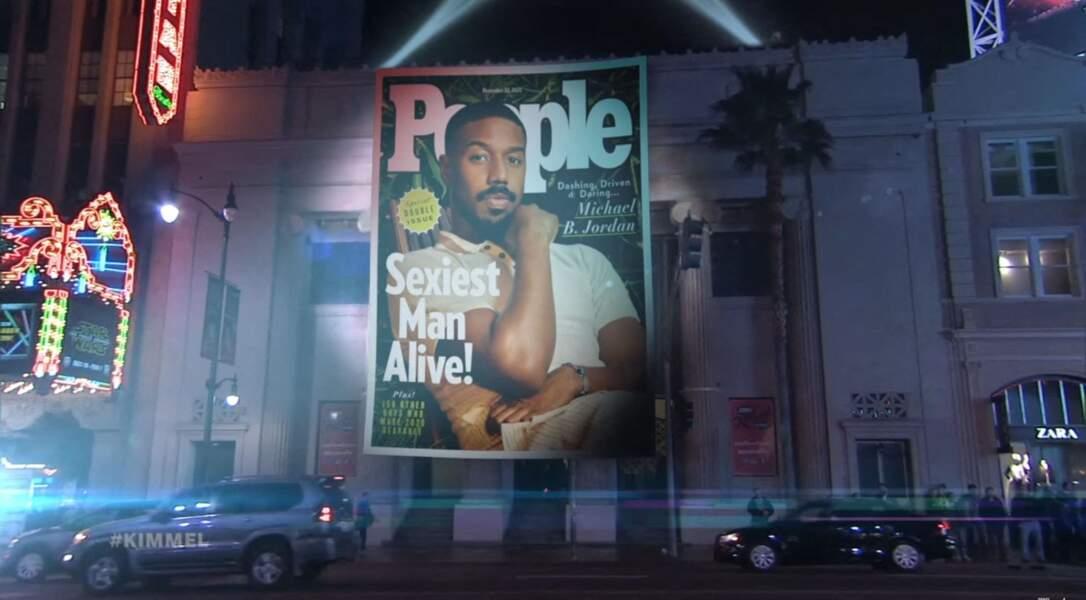 Michael B.Jordan a été élu l'homme le plus sexy de la planète par le magazine People