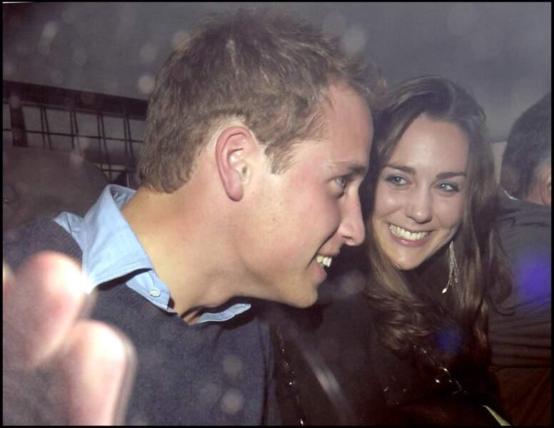En 2007, le prince William a rompu quelques mois avec Kate Middleton avant de la retrouver et de la demander en mariage