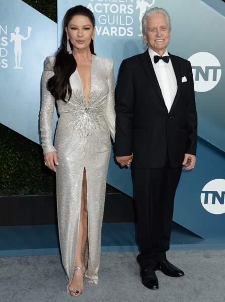 Rapidement réconciliés, Michael Douglas et Catherine Zeta-Jones filent toujours le parfait amour en 2020