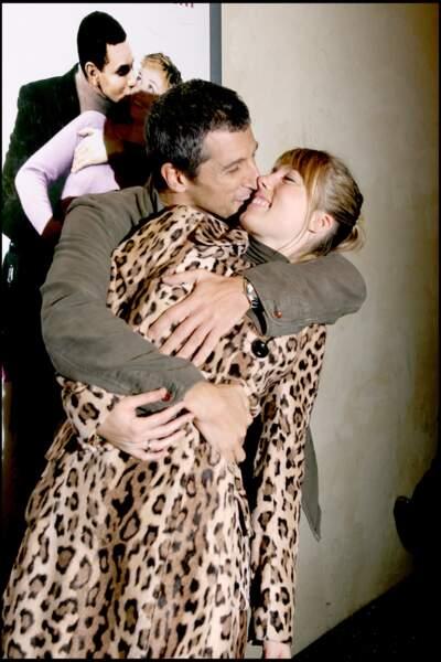 Nagui et Mélanie Page (2006)