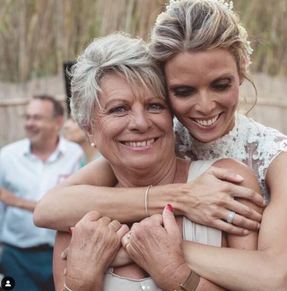Sylvie Tellier - Mère et fille
