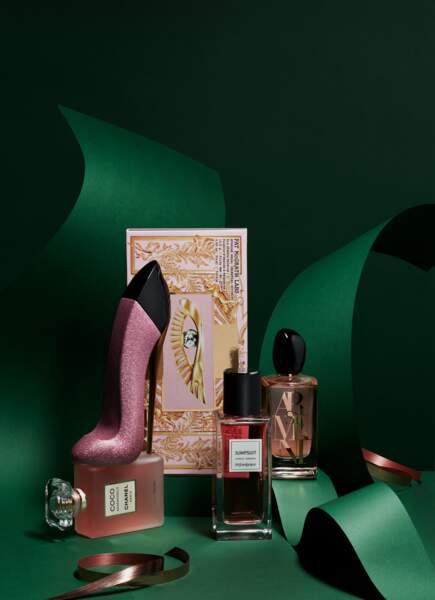 Des parfums et des livres pour ce Noël 2020
