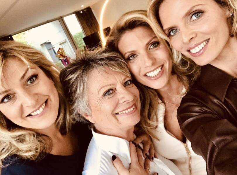 Sylvie Tellier et ses soeurs